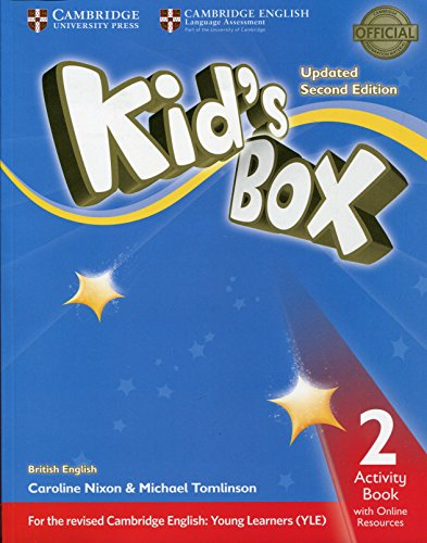 Kid's Box Level 2 Activity Book with Online Resources British English [Lingua inglese]