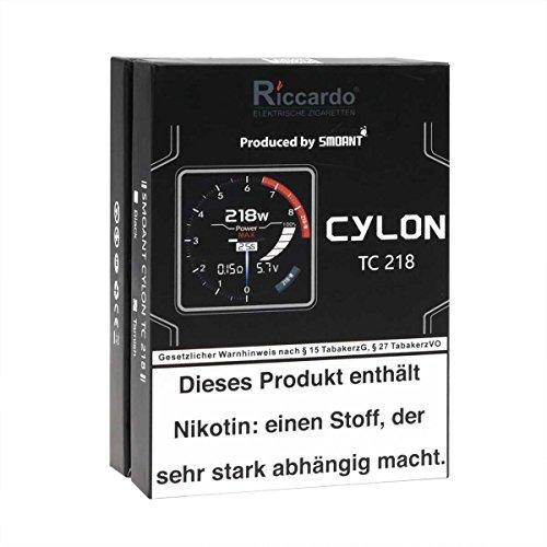 Smoant Cylon TC 218 Box MOD 218 Watt, Riccardo e-Zigarette - Akkuträger, tarnish