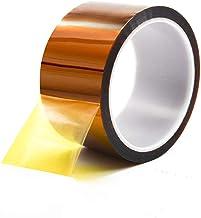 Hittebestendige tape voor warmtepers, tot 572 ° hoge temperatuur polyester tape voor warmteoverdracht, sublimatie, maskere...