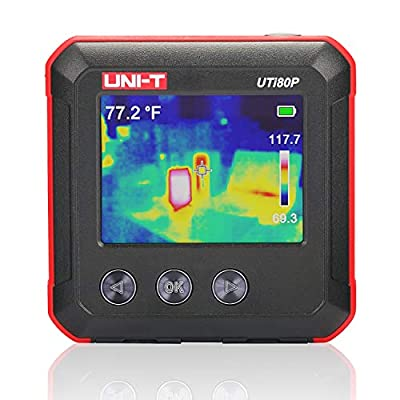 Pocket-Sized IR Infrared Thermal Imager, 2020 New Upgraded UNI-T UTi80P Thermal Imaging Camera