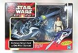 Hasbro Star Wars Episode 1 : GUNGAN Scout sub + Obi Wan Kenobi