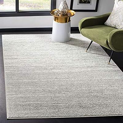 Safavieh Adirondack Collection ADR113C Modern Ombre Area Rug, 8' x 10', Light Grey/Grey