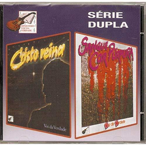 CD Voz da Verdade Série Dupla Cristo Reina e Sangue Cor Púrpura