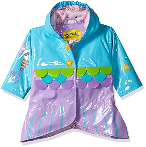 Kidorable Original Kinderregenjas, alle weersomstandigheden, waterbestendig, regenjas, zeemeermin voor jongens en meisjes