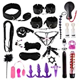 Fiaoen 26PCS Adullt Toys for Couples Sex Best Adjustable S & M Game Tools Kit