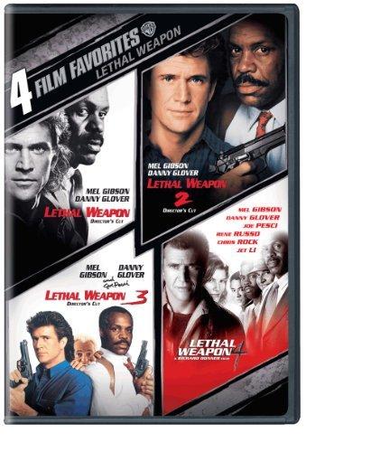 Lethal Weapon: 4 Film Favorites [DVD] [Region 1] [US Import] [NTSC]