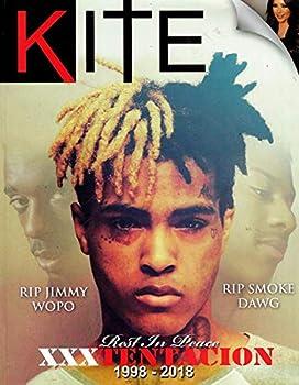 KITE Magazine  2018  Issue 2 XXX TENTACION Cover ROC NATION JAY-Z