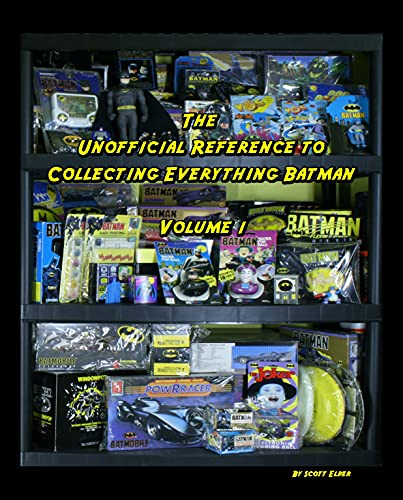 The Unofficial Reference To Collecting Everything Batman: Vol 1 (English Edition)
