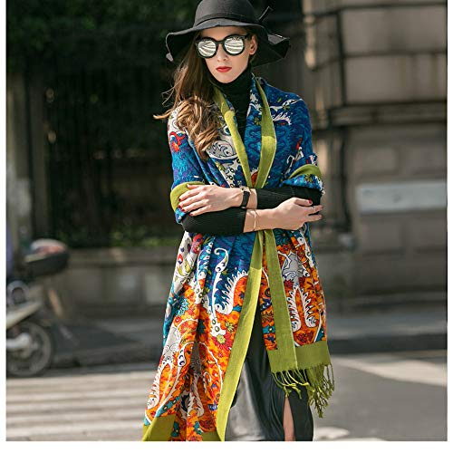 Ztweijin Mode Winter Sjaal Voor Vrouwen Sjaal Warm Plaid Sjaal Luxe Merk Deken Wraps Vrouwelijke Sjaals En Sjaals