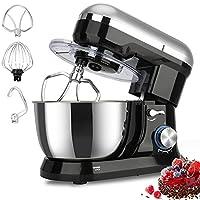 Elegant Life Küchenmaschine,1500W Küchenmaschine Rührgerät,8-Gang-Teigmischer