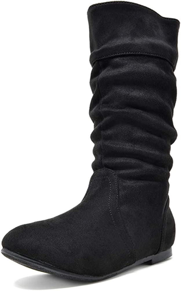 DREAM PAIRS Girl's Max 77% OFF Faux Max 55% OFF Fur Lined Boots Knee Winter Riding High
