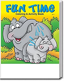 Fun Time Kid's Coloring & Activity Book in Bulk (25 Pack)