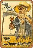 No/Brand Wer Bier Trinkt Hilft Der Landwirtschaft