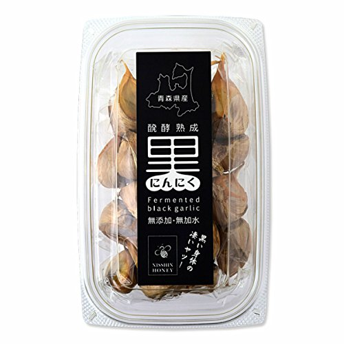 日新蜂蜜 醗酵熟成 黒にんにくほぐし 180g