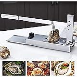 Oyster Shucker, acero inoxidable portátil Precio de ostras de grado comercial de acero inoxidable con cuchillos de corte para mariscos de mariscos / restaurante
