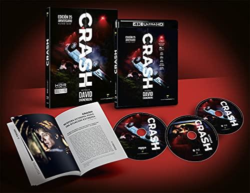CRASH Ed. 25º aniversario (4K UHD + 2 BD + LIBRO) [Blu-ray]