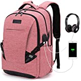 Tzowla Travel Laptop Backpack Waterproof Business Work School College Bag Daypack with USB