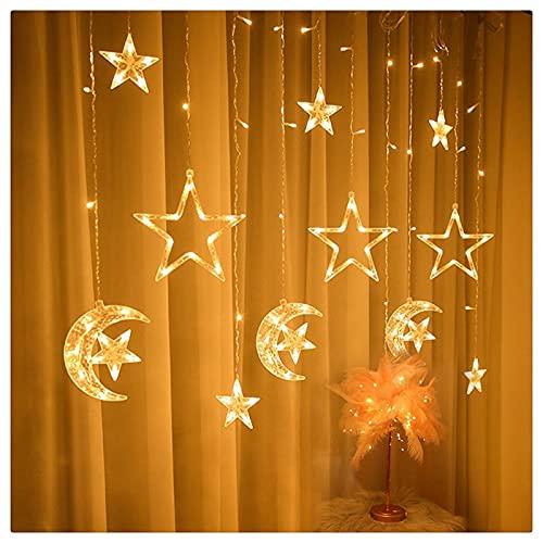 RYSF Musulmán Palacio Luz Eid Ramadán Decoraciones para el hogar Eid Mubarak Luz de noche Ramadán Kareem Ramadán Decoraciones Islam Regalo Lámpara