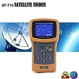 Mesureur de champ satellite SF-710Sat-Finder dVBS/S2SCR garantie Italie