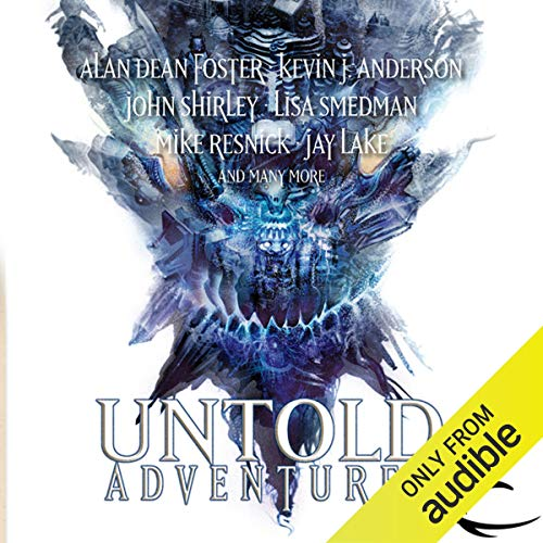 Untold Adventures audiobook cover art