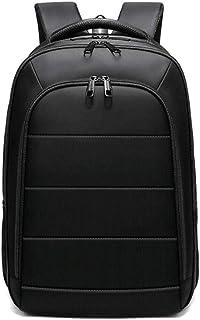 d09eb6612a Uomo Backpack, Popoti Zaino Multifunzione Zaino Nylon Scuola Borsa Laptop  Zaini Grandi Impermeabile Daypack Adolescente