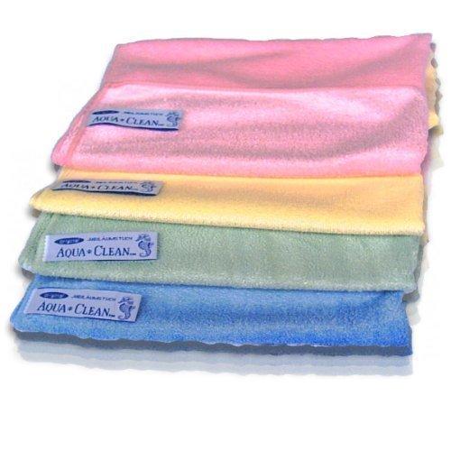 Aqua Clean Microfasertücher 4er Pack - 40 x 38 cm