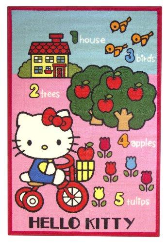 Fun House - 711651 - Ameublement Et Décoration - Hello Kitty - Tapis Jardin