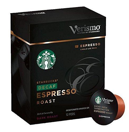 Starbucks® Decaf Espresso Roast Verismo™ Pods 12 -0.28oz