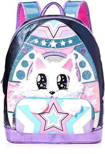 Irregular Choice Women's Jetpack Backpack, Pink/Black, Large