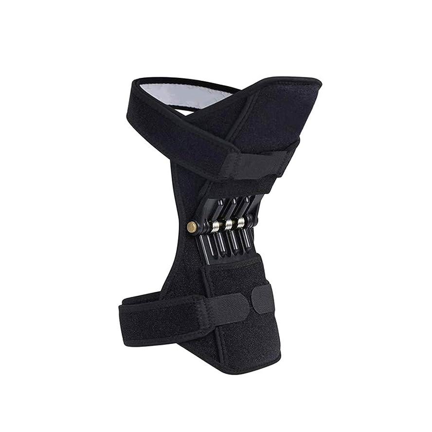 カレッジはっきりと殺すEsolom シングル 共同サポート 膝パッド通気性 滑り止め パワーブースト 関節補助膝パッド 左右どちらの足でも 強いリバウンドニーパッド