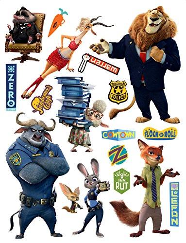 Bebegavroche Stickers géants Zootopie Disney