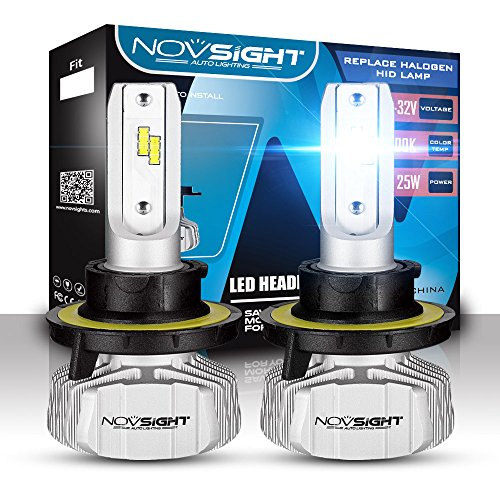 Phare De LED Kit De Conversion 50W 10000LM 6500K LED Voiture Conduite Lumière Brouillard Lampe Pour Le Remplacement De Camion De Voiture,H13
