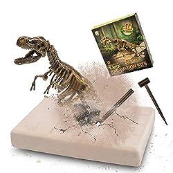 5. VIBIRIT Dig Up Dinosaurs Skeleton Fossil Excavation Set