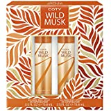 Coty Wild Musk Mist, 2.5 Ounce, Pack of 2