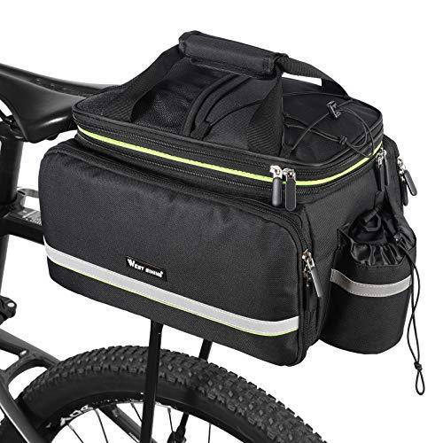 West Biking Bike Rear Pannier Bag Waterproof, 35L...