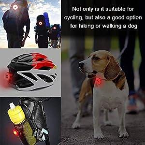 HMEDA Luz Trasera de Bicicleta,Luz Trasera Bici Compacta LED USB Recargable, Impermeable, Advertencia, 5 Modos, Luz Trasera (1PCS)