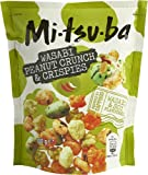 Mezcla de mitsuba de arroz y galletas de maní recubiertas con aroma picante de wasabi - 1 x 100 gramos