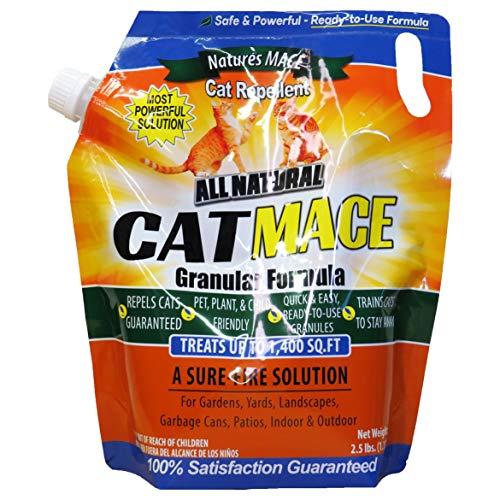 Nature's Mace Cat MACE 2.2lb, Treats 1,400 sq.ft.
