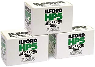 3 X llford HP5 Plus 400, 24 Exp, 35mm Black and White Print Film