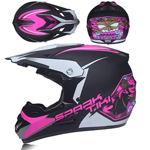 Qianliuk Adultos Offroad Motos Cascos ATV Downhill DH Hood Cascos Protectores Helmit
