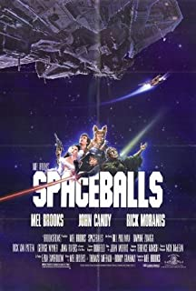 Spaceballs Poster Movie 11x17 Mel Brooks Rick Moranis John Candy Bill Pullman