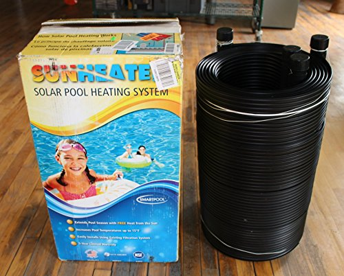 Smartpool WWS421P  Sunheater Solar Pool Heater for Above Ground Pools,Black