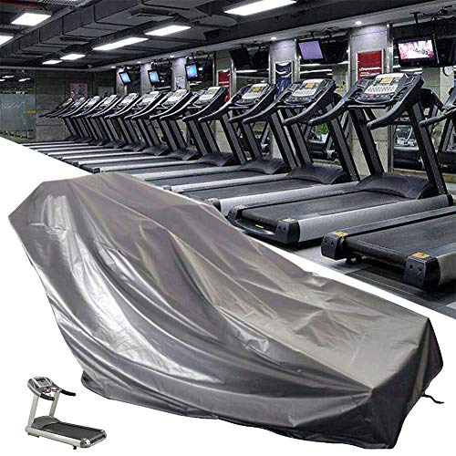Funda protectora plegable para máquina de correr deportiva, resistente al polvo, impermeable, protector de equipo de fitness, ideal para uso en interiores o exteriores