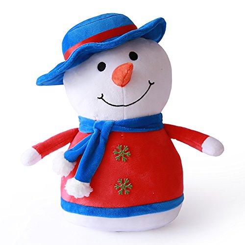 VERCART Hülsenkissen Erwärmung Hand Winter Handwärmer Original Spielzeug für Kinder Decor für Party Geschenk Jahrestag Weihnachten 43cm