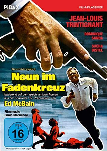 Neun im Fadenkreuz (Sans mobile apparent) / Rasanter Thriller nach dem gleichnamigen Roman von Ed McBain (Pidax Film-Klassiker)