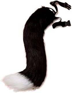 BANLAN Faux Fur Fox Costume Tail Adult/Teen Cosplay Halloween Christmas Party Costume One Size