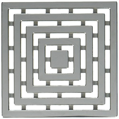 """Ebbe E4815-PS Frames Unique Grate, Polished Stainless, 4"""""""
