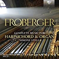 Froberger Complete Music For Harpsichord And Organ (16CD)