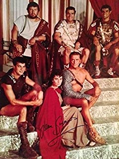 JEAN SIMMONS HAND SIGNED OVERSIZED 11x14 COLOR PHOTO+COA SPARTACUS