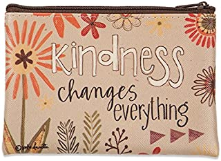 Brownlow Gifts Zippered Coin Purse, Kindness Changes Everything